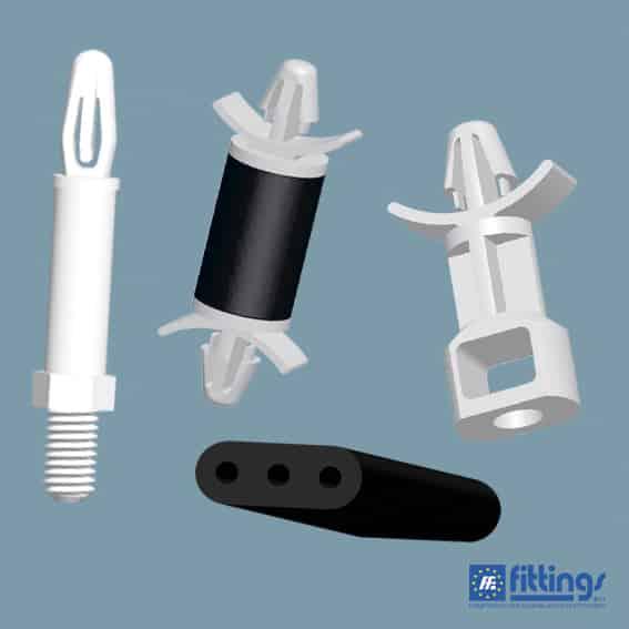 Supporti e Distanziatori Plastici per Circuito Stampato